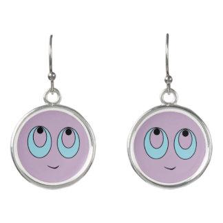 Adorable Smiley Face Drop Earrings