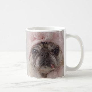 Adorable Snow Pug Mug by Pugs and Kisses