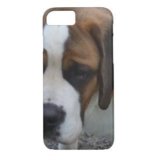 Adorable St Bernard iPhone 7 Case