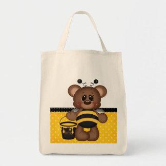 Adorable Teddy Bear Bumble Bee Bags