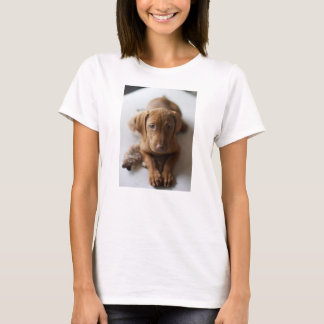 Adorable Vizsla Puppy Dog - Vizsla Puppy Tee Shirt