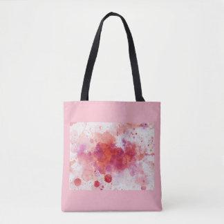Adorable watercolor tote bag