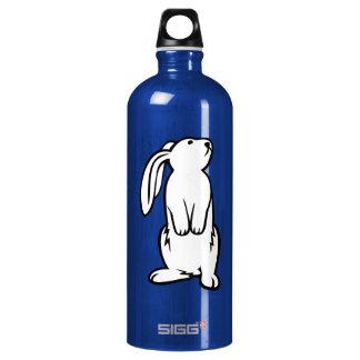 Adorable White Bunny Rabbit Water Bottle