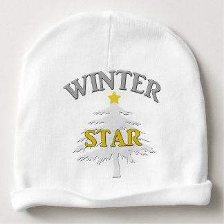 Adorable Winter Star baby beanie