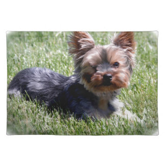 Adorable Yorkie Multiple Products Selected Placemat