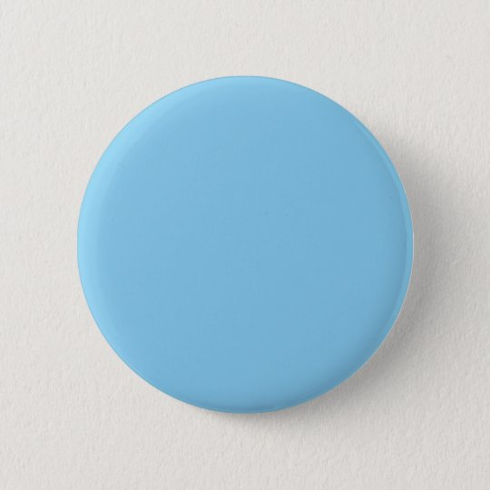 Adorably Cuddly Blue Colour 6 Cm Round Badge