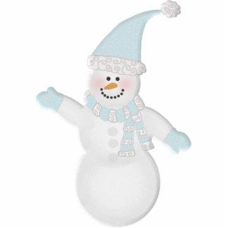 Adorably Cute Snowman Cut Out