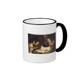 Adoration of the baby, c.1620 ringer mug