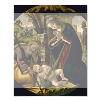 Adoration of the Christ Child by Botticelli Flyers