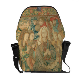 Adoration of the Christ child  (Tapestry) Commuter Bag