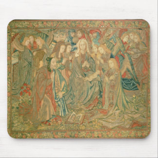 Adoration of the Christ child  (Tapestry) Mouse Pad