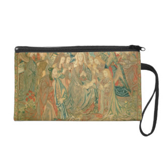 Adoration of the Christ child  (Tapestry) Wristlets
