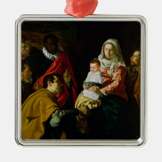 Adoration of the Kings, 1619 Christmas Ornament