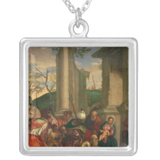 Adoration of the Kings Silver Plated Necklace