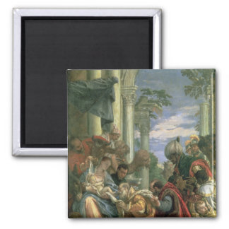 Adoration of the Magi, 1570s Square Magnet