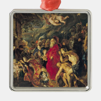 Adoration of the Magi, 1610 Christmas Ornament