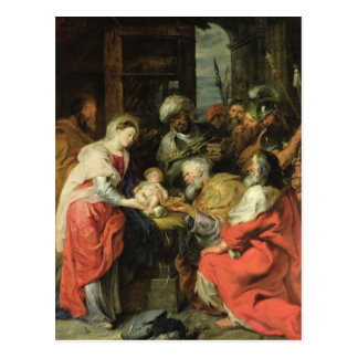 Adoration of the Magi, 1626-29 Postcard