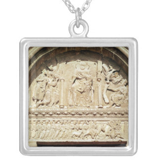 Adoration of the Magi 2 Silver Plated Necklace