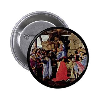 Adoration of the Magi 6 Cm Round Badge