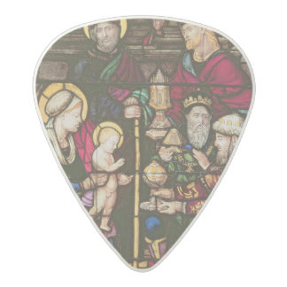 Adoration of the Magi Acetal Guitar Pick