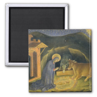 Adoration of the Magi Altarpiece; left hand predel Refrigerator Magnets