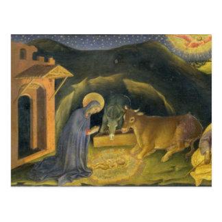 Adoration of the Magi Altarpiece; left hand predel Postcard