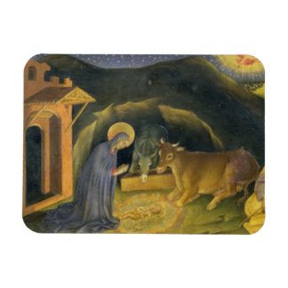 Adoration of the Magi Altarpiece; left hand predel Rectangular Photo Magnet