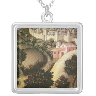 Adoration of the Magi Altarpiece Silver Plated Necklace