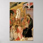 Adoration of the Magi, Bartolo Di Fredi Poster