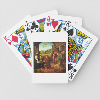 Adoration of the Magi Bicycle Playing Cards