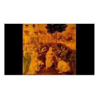 Adoration of the Magi by Leonardo Da Vinci Pack Of Standard Business Cards