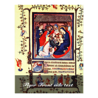 Adoration Of The Magi By Meister Des Paraments Von Flyers