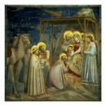 Adoration of the Magi, c.1305 Poster