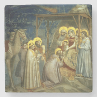 Adoration of the Magi, c.1305 Stone Coaster