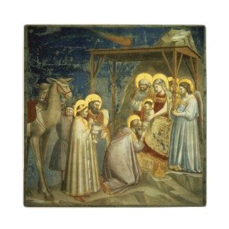 Adoration of the Magi, c.1305 Wood Coaster