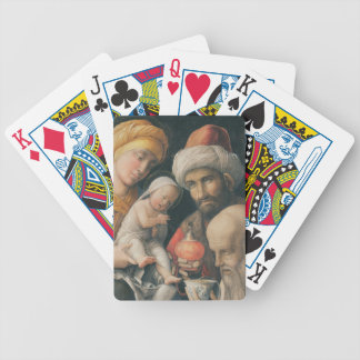 Adoration of the Magi, c.1495-1505 Bicycle Playing Cards
