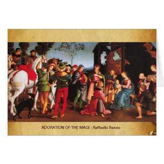ADORATION OF THE MAGI GREETING CARDS
