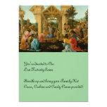 Adoration of the Magi 13 Cm X 18 Cm Invitation Card