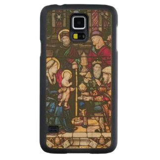 Adoration of the Magi Maple Galaxy S5 Slim Case
