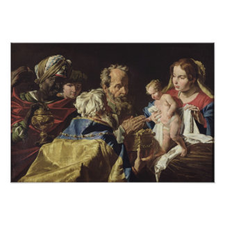 Adoration of the Magi Poster