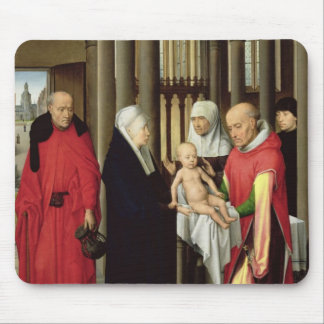 Adoration of the Magi: Right wing of triptych Mouse Pad