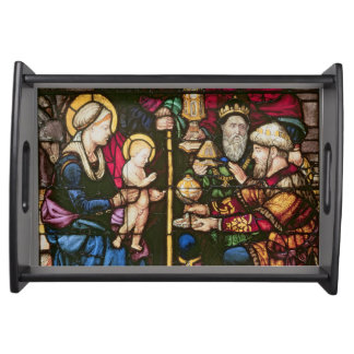 Adoration of the Magi Serving Tray