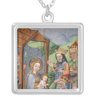 Adoration of the Magi Silver Plated Necklace