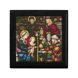 Adoration of the Magi Small Square Gift Box