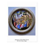 Adoration Of The Magi Tondo By Fra Filippo Lippi Postcard
