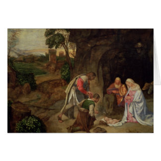 Adoration of the Shepherds, 1510 Card
