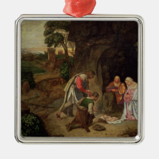Adoration of the Shepherds, 1510 Christmas Ornament