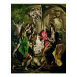 Adoration of the Shepherds, 1603-05 Poster