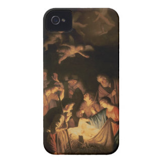 Adoration of the Shepherds, 1617 (oil on canvas) iPhone 4 Case