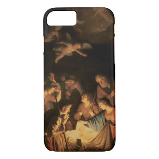 Adoration of the Shepherds, 1617 (oil on canvas) iPhone 8/7 Case